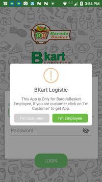 Bkart Logistics poster