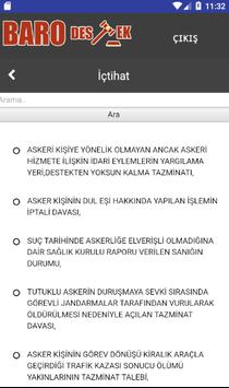 Baro Destek apk screenshot