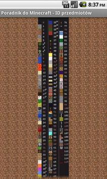 Poradnik do Minecraft'a apk screenshot