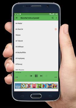 Murottal Toha Al Junaid apk screenshot