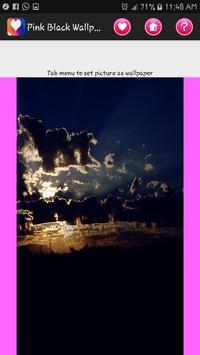 Pink Black Wallpaper screenshot 19