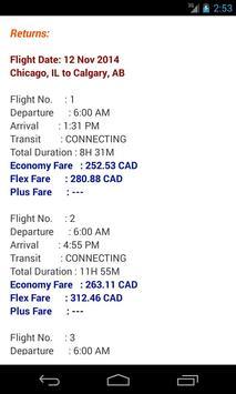 Flight Fare Watch screenshot 7