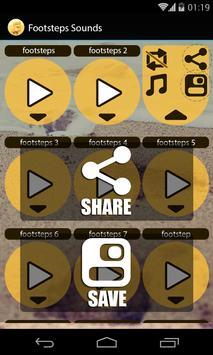 Footsteps Sounds apk screenshot
