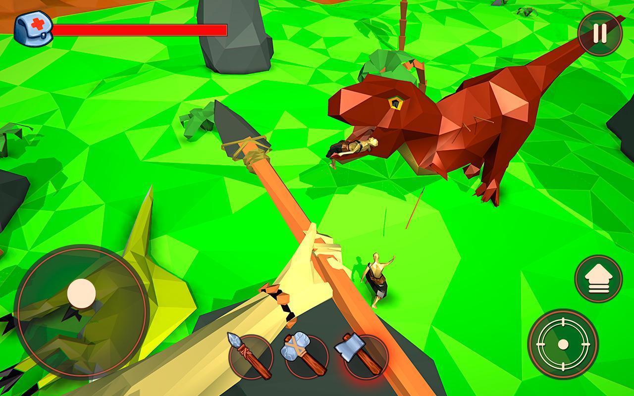 Dino Hunter Craft Online Cho Android Tải Về Apk