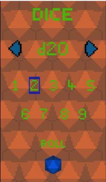 RPG Pixel Dice screenshot 2