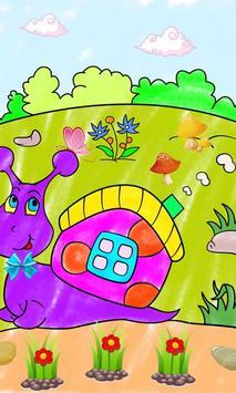 Coloring book Animal friends screenshot 14