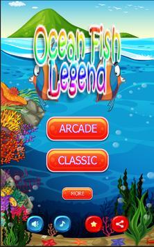 Ocean Fish Legend poster