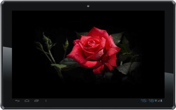 Diamond n Roses live wallpaper poster