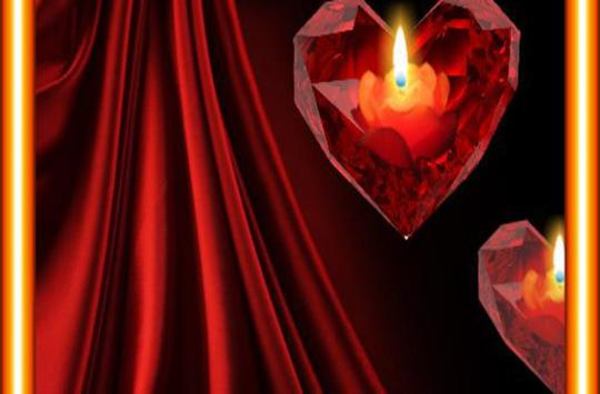 Heart n Candle live wallpaper screenshot 1
