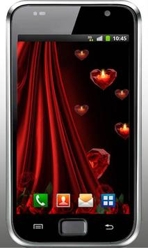 Heart n Candle live wallpaper screenshot 3
