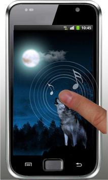 Wolf Sounds Top Live Wallpaper apk screenshot