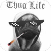 Thug Life Sticker Maker icon