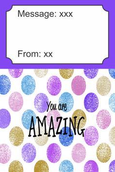 You Are Amazing Card screenshot 1