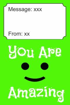 You Are Amazing Card screenshot 2