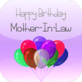 Birthday Card Mother In Law icon