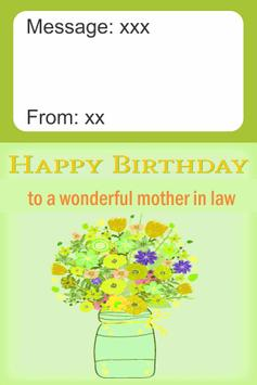Birthday Card Mother In Law screenshot 1