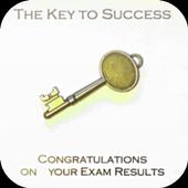 Congratulation Exam Result Card icon