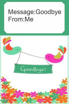 Farewell Card poster