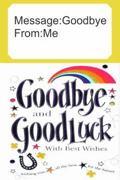 Farewell Card apk screenshot
