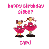 Happy Birthday Sister Card icon