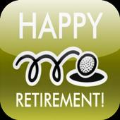 Happy Retirement Card icon