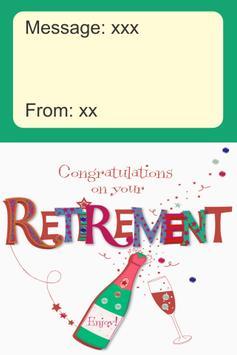 Happy Retirement Card screenshot 1