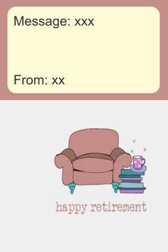 Happy Retirement Card screenshot 2