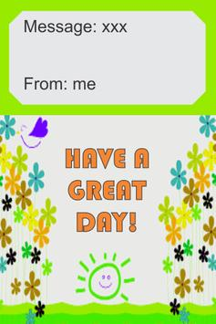 Have a Great Day Card apk screenshot