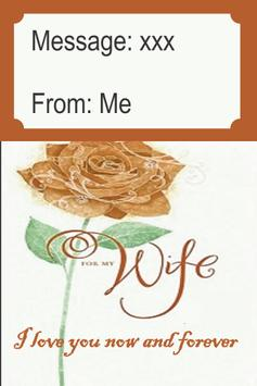 Romantic Card For Wife poster