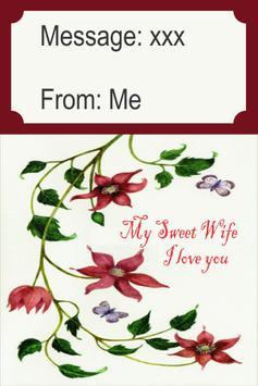 Romantic Card For Wife screenshot 1