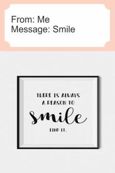 Smile Greeting Card poster