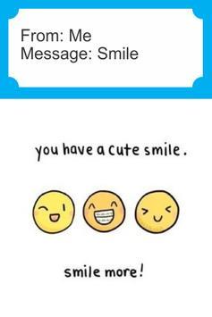 Smile Greeting Card apk screenshot