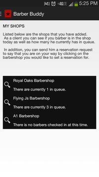 Barber Buddy screenshot 1