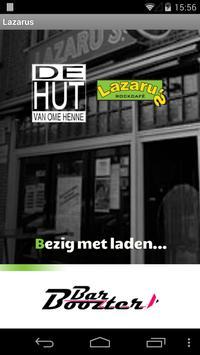 Cafe Lazarus Leiden poster