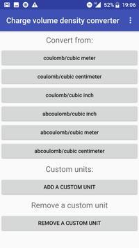 Charge volume density converter poster