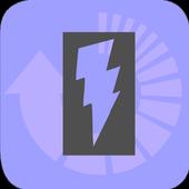 Electrostatic capacitance converter icon