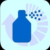 Mass flux density converter icon