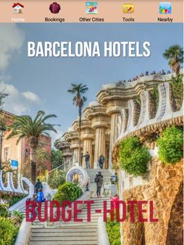 Barcelona Hotels poster