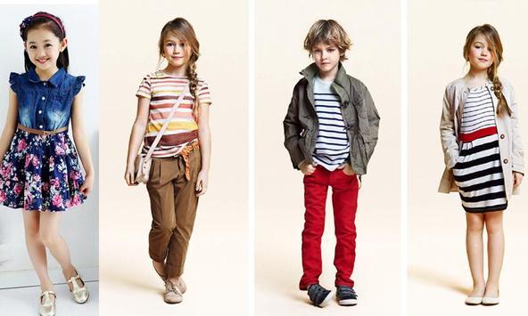 Kids Dress Fashion Ideas 2018 poster