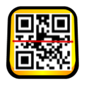 Barcode and QRcode scan icon