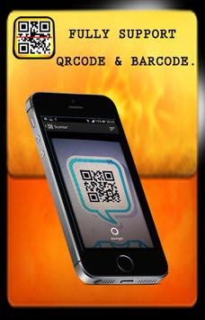 Barcode and QRcode scan poster
