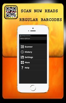 Barcode and QRcode scan screenshot 1