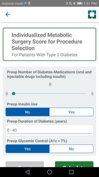 Bariatric Surgery Calculator screenshot 1