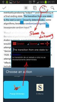 Popup Dictionary screenshot 4