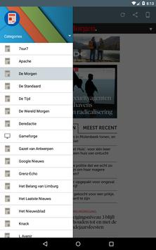 België Kranten apk screenshot