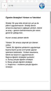 KPSS Eğitim Bilimleri Notları apk screenshot