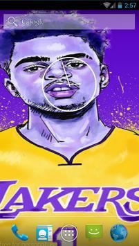 D'Angelo Russel NBA Wallpaper apk screenshot