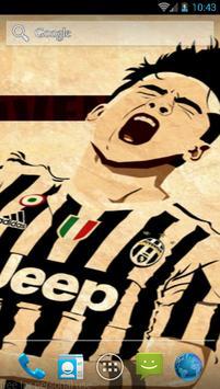 Paulo Dybala Juve Art Wallpaper apk screenshot