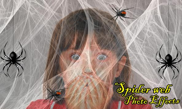 Spider Web Photo Effects poster