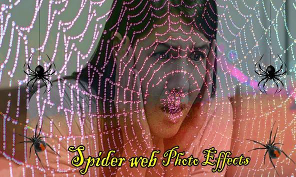 Spider Web Photo Effects apk screenshot